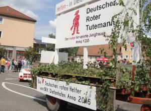 Kirchweihumzug 2016
